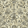 This item: Tailored Tan Toile Wallpaper - SAMPLE SWATCH ONLY