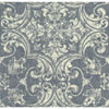This item: Organic Cork Prints Regency Blue and White Wallpaper-SAMPLE SWATCH ONLY