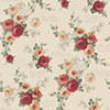 This item: Heirloom Rose Red and Beige Removable Wallpaper