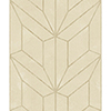 This item: Mixed Materials Beige and Wood Geometric Wallpaper