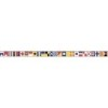 This item: Nautical Living Yellow and Black Sailing Flags Border
