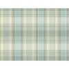 This item: Nautical Living Beach Grass Yellow and Green Bartola Plaid Wallpaper: Sample Swatch Only