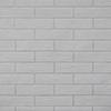 This item: Brick Paintable White Wallpaper
