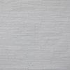 This item: Stacked Stone Paintable White Wallpaper