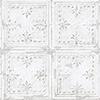 This item: Tin Tile White Peel and Stick Wallpaper