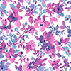 This item: Watercolor Pink and Blue Floral Peel and Stick Wallpaper - SAMPLE SWATCH ONLY