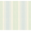 This item: Inspired by Color Blue and Green Stria Wallpaper: Sample Swatch Only