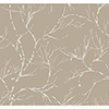 This item: Masterworks Light Brown Foliage Wallpaper