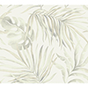 This item: Candice Olson Tranquil Gray Palm Wallpaper - SAMPLE SWATCH ONLY