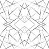 This item: Modern Art Black Geo Diamond Wallpaper - SAMPLE SWATCH ONLY