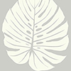 This item: Aviva Stanoff Grey Bali Leaf Wallpaper