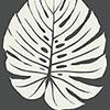 This item: Aviva Stanoff Black Bali Leaf Wallpaper - SAMPLE SWATCH ONLY