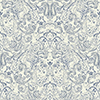 This item: Patina Vie Navy Blue and White Paisley Wallpaper - SAMPLE SWATCH ONLY