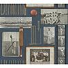 This item: Snapshots Navy Blue Wallpaper