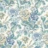 This item: Waverly Classics I Sonnet Sublime Removable Blue Wallpaper