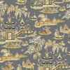 This item: Waverly Classics I Peaceful Temple Removable Wallpaper Black Wallpaper- Sample Swatch Only