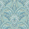 This item: Waverly Classics I Swept Away Removable Wallpaper Blue Wallpaper- Sample Swatch Only