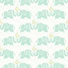 This item: Elephants Love Green Wallpaper - SAMPLE SWATCH ONLY