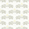 This item: Elephants Love Brown Wallpaper - SAMPLE SWATCH ONLY