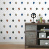 This item: Harry Potter Red and Blue House Crest Peel and Stick Wallpaper