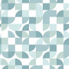 This item: Green Mid-Century Geometric Peel and Stick Wallpaper-SAMPLE SWATCH ONLY