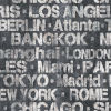 This item: Black and White Cities of the World Peel and Stick Wallpaper-SAMPLE SWATCH ONLY