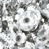 This item: Black and White Floral Peel and Stick Wallpaper-SAMPLE SWATCH ONLY