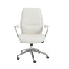 This item: Crosby White 26-Inch Low Back Office Chair