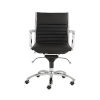 This item: Dirk Black 27-Inch Low Back Office Chair