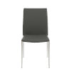This item: Diana Gray 18-Inch Stacking Side Chair, Set of 4