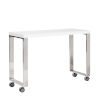 This item: Dillon White 39-Inch Side Return