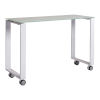This item: Diego White 39-Inch Side Return