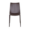 This item: Dalia Brown 19-Inch Pro Stacking Side Chair, Set of 4