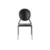 This item: Isabella Black 19-Inch Side Chair, Set of 2