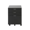 This item: Gilbert Black 16-Inch 3 Drawer File Cabinet