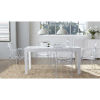 This item: Adara White 63-Inch Rectangle Dining Table