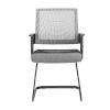 This item: Maska Gray 22-Inch Visitor Chair