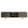 This item: Anderson Walnut and Gray 71-Inch Media Stand