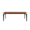 This item: Brighton Walnut and Black 52-Inch Coffee Table