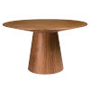 This item: Wesley Walnut 53-Inch Round Dining Table