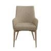 This item: Calais Tan 22-Inch Arm Chair, Set of 2