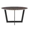 This item: Quade Brown and Black 51-Inch Dining Table