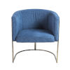This item: Marrisa Blue 28-Inch Lounge Chair