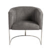 This item: Marrisa Gray 28-Inch Lounge Chair