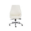 This item: Emerson White Low Back Office Chair