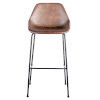 This item: Emerson Brown Leatherette Bar Stool, Set of 2
