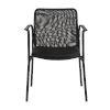 This item: Emerson Black Arm Chair