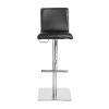 This item: Emerson Black Adjustable Bar Counter Stool