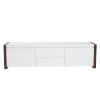This item: Manon White 67-Inch Media Stand