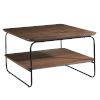 This item: Halle Walnut 32-Inch Square Coffee Table